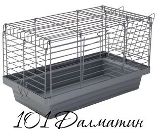 """Клетка """"Кролик"""" 50 ХРОМ 50*27*30"""