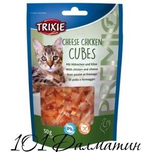 Лакомство для котов PREMIO Курица+Сыр