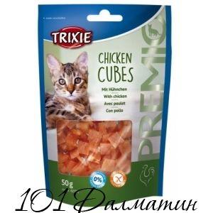 Лакомство для котов PREMIO Куриные Кубики