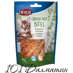 Лакомство для котов PREMIO Курица Филе