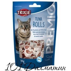 Лакомство для котов PREMIO Тунец роллы