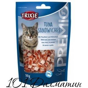 Лакомство для котов PREMIO Тунец сэндвичи