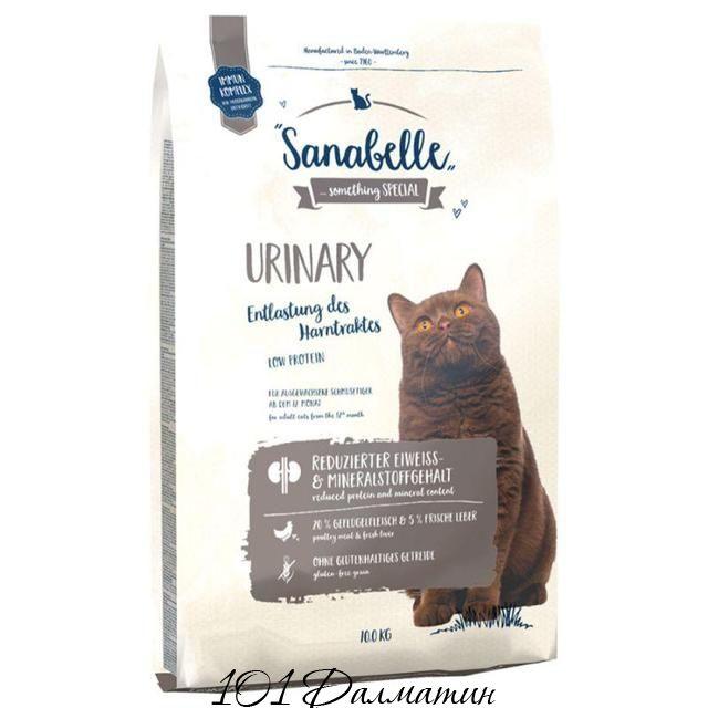 Корм для кошек Санабель Уринари
