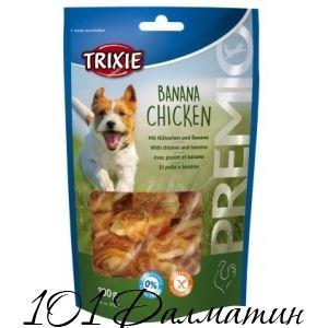 Лакомство для собак PREMIO курица+банан