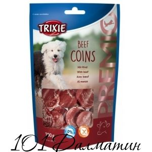 Лакомство для собак PREMIO Говядина Coins