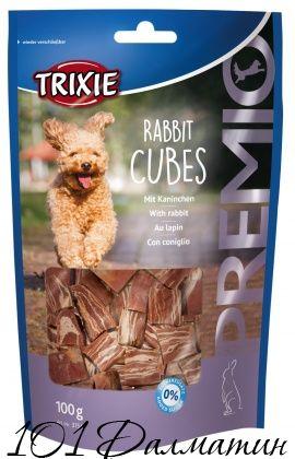 """Лакомство """"PREMIO Rabbit Cubes"""" кролик"""