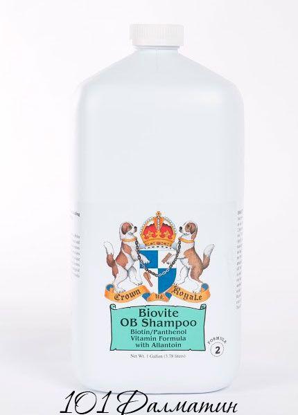 Crown Royale Biovite Shampoo №2 для жёсткой шерсти, для короткой шерсти, для густой шерсти