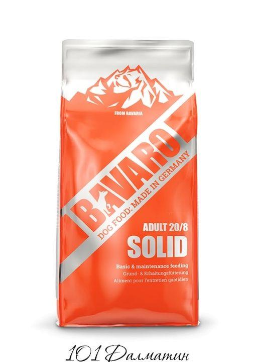 Bavaro Solid 20/8 Сухой корм для взрослых и пожилых собак