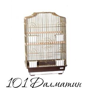 "Клетка клетка для птиц ""Camellia"" 46,5х36х71 /4"