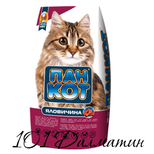 Пан Кот с Говядиной Сухой корм для котов
