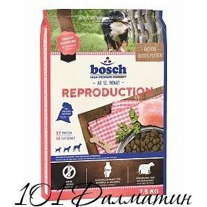 Корм Бош Репродакшн для беременных и кормящих собак
