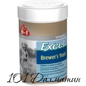 Бреверс Витамины для собак с пивными дрожжами и чесноком