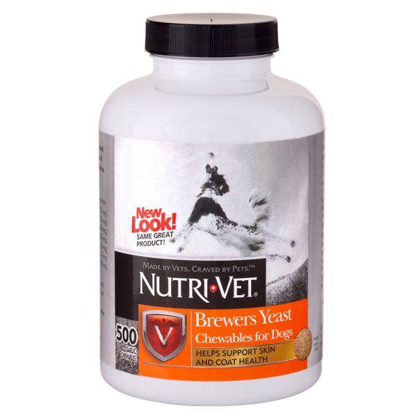 Nutri-Vet БРЭВЕРС комплекс для шерсти собак