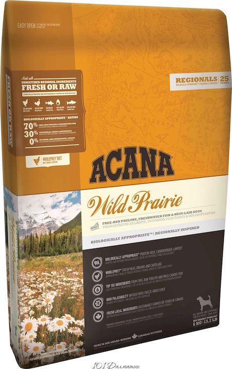 Акана для собак Wild Prairie