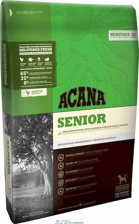 Акана для собак Senior для пожилых собак всех пород