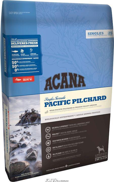 Акана для собак с Рыбой Pacific Pilchard