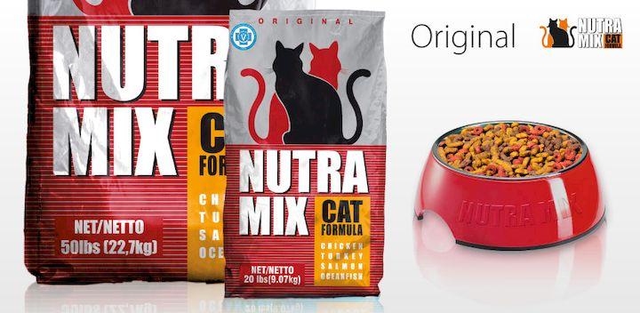 Нутра микс для кошек Оригинал. Nutra Mix Original