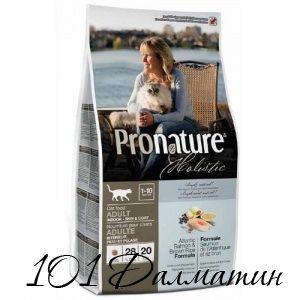 Пронатюр Холистик атлантический лосось и коричневый рис для котов