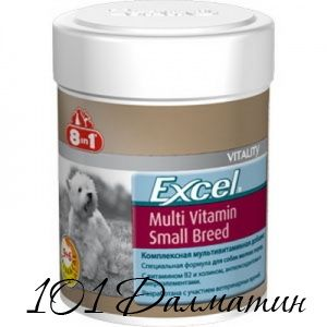 Мультивитамины для взрослых собак мелких пород