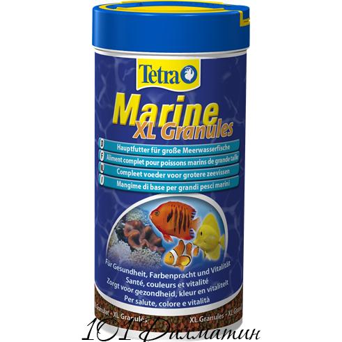 Корм Tetra Marine XL Granules для морских рыб среднего и крупного размера