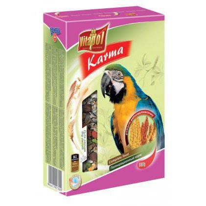 Корм Vitapol для крупных попугаев 900г