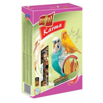 Корм Vitapol для волнистых попугаев 1000г