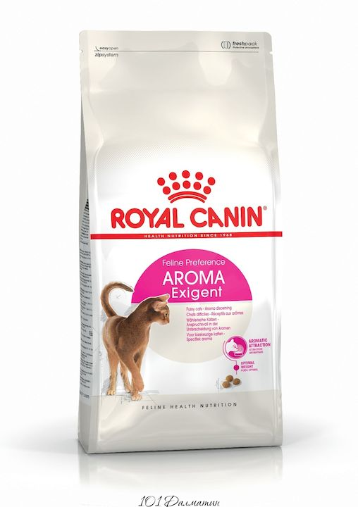 Роял Канин Корм для кошек, привередливых к АРОМАТУ продукта Exigent 33 Aromatic Attraction