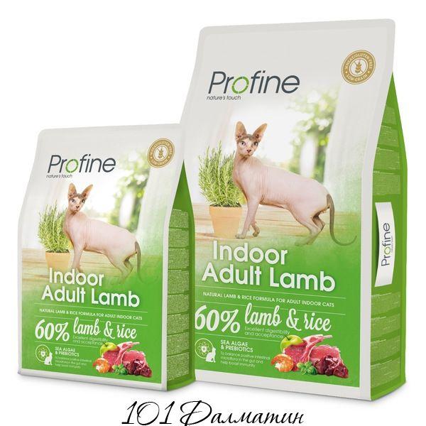 Профаин INDOOR натуральное куриное мясо и рис для кошек, содержащихся в помещении
