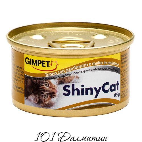 ShinyCat с тунцом, креветками и солодом