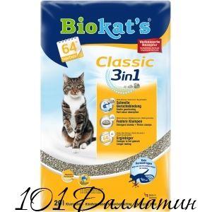Наполнитель Biokat's Classic 3in1