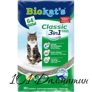 Био Кетс для котов 3в1 Фреш