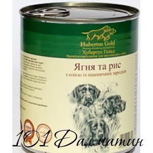 Консерва для собак Ягненок и рис ХубертусГолд