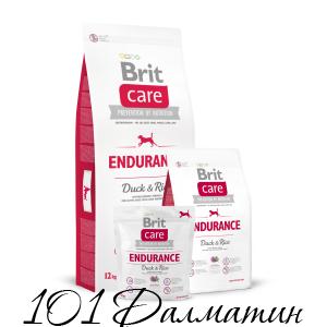 Brit Care Endurance для активных собак, расходующих много энергии
