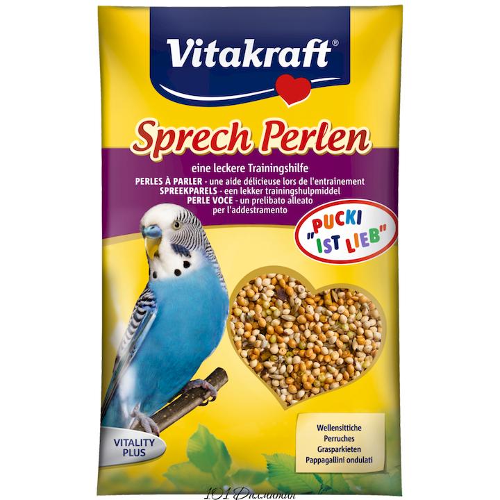 Витаминная смесь PERLEN для попугаев для стимулирования речи 20гр.