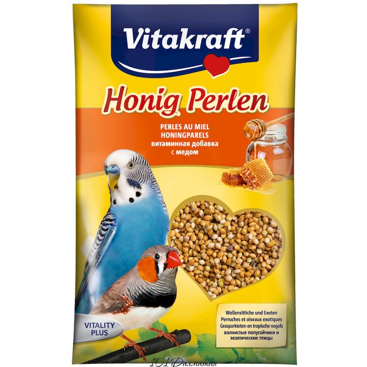 Витаминная смесь PERLEN для попугаев с медом 20гр.