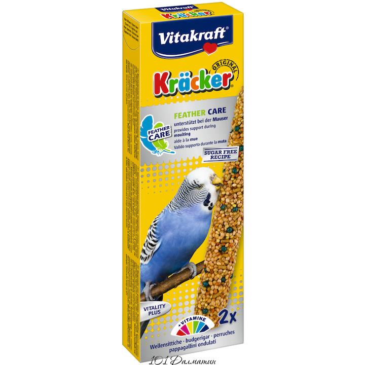 Крекер для попугаев в период линьки (2шт)