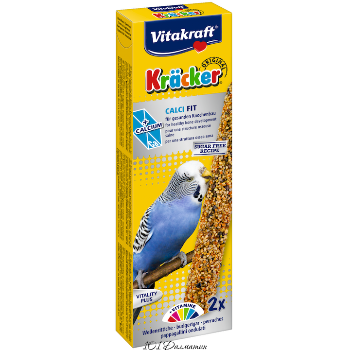 Крекер для попугаев с кальцьцием Junior (2шт)