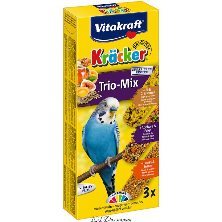 Крекер для попугаев мед, фрукты, яйцо (3шт)