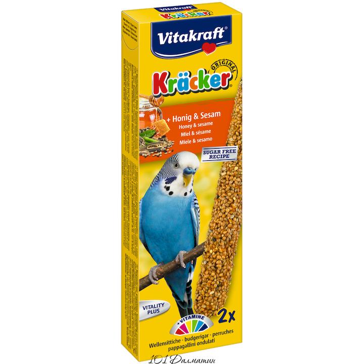Крекер для попугаев медовая (2шт)