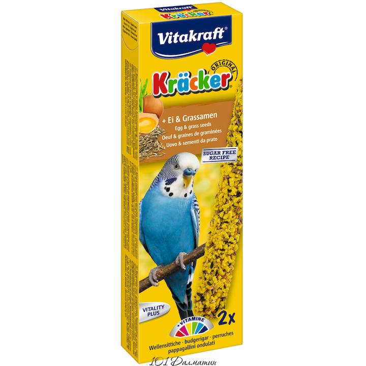 Крекер для попугаев яичный (2шт)