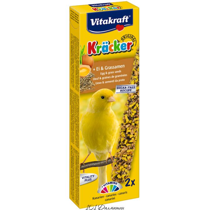 Крекер для канареек яичный (2шт)