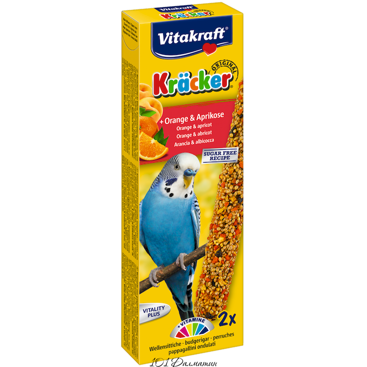 Крекер для попугаев апельсин (2шт)