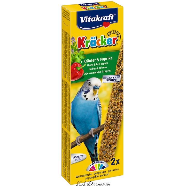 Крекер для попугаев травяная (2шт)