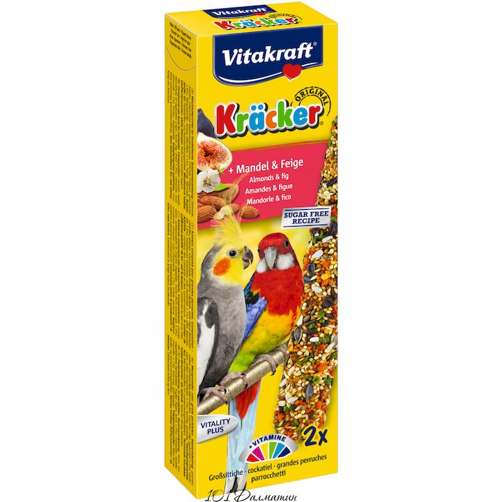 Крекер для австралийских попугаев фрукты и орехи (2шт)