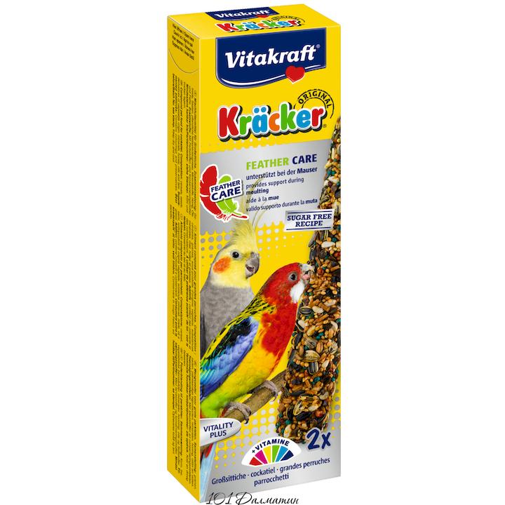 Крекер для средних попугаев в период линьки (2шт)