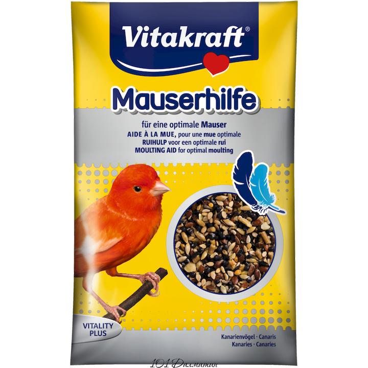 Витаминная смесь для канареек и лесных птиц в период линьки 20гр