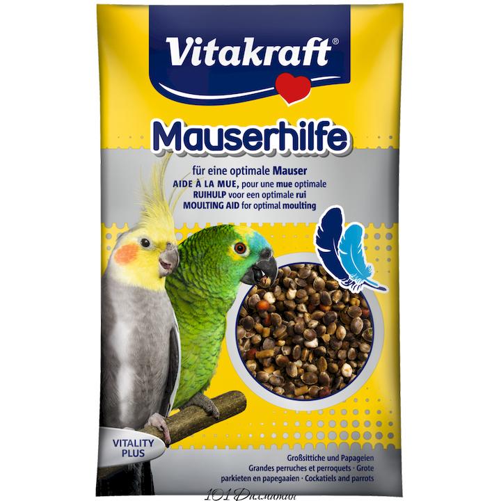 Vitakraft (Витакрафт) Витаминная добавка в период линьки для больших и средних попугаев