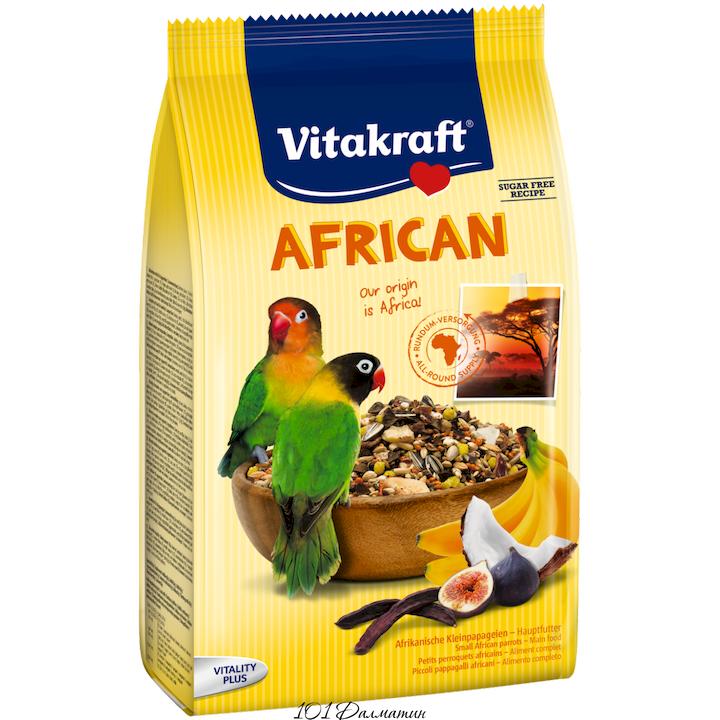 Корм для африканских попугаев Неразлучник 750г