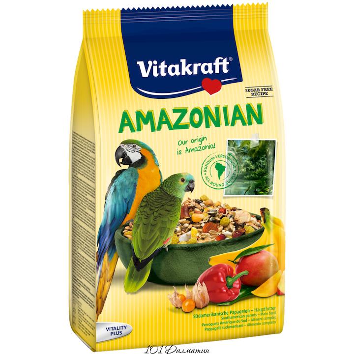 Корм для американских попугаев AMAZONIA 750гр
