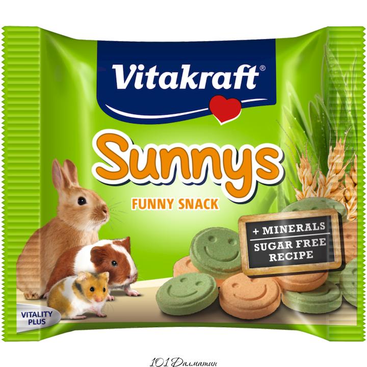 Витамины для грызунов Sunnys 50гр